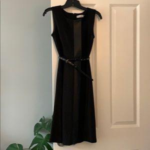 Calvin Klein size 2 black dress